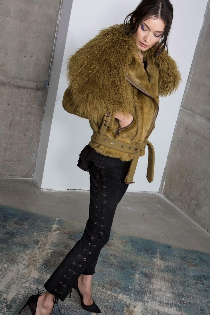 Teagan fur jacket