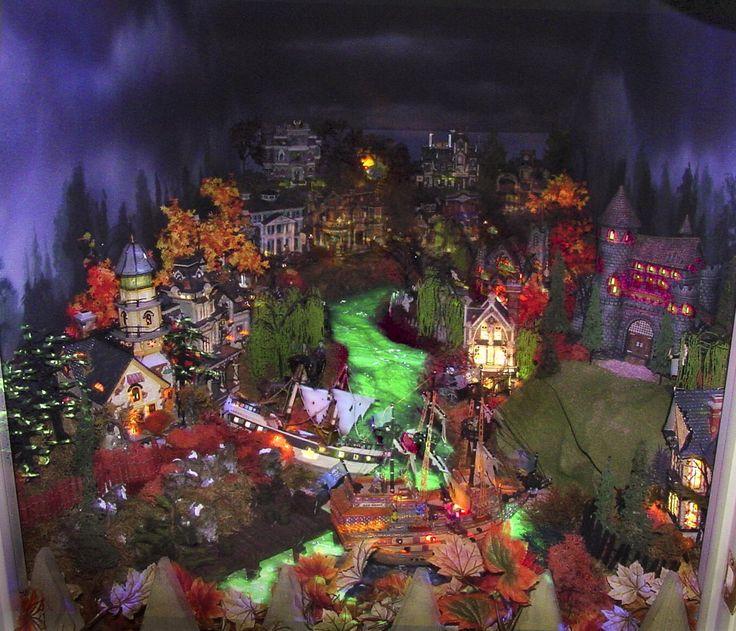 halloween village québécois d'antan