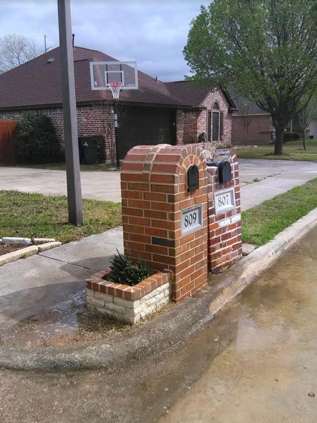 Www Cobblestonemasonrydfw Com Brick Repair Custom Mailboxes Masonry