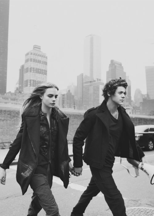 Cara Delevingne and Harry Styles for Centerfold Magazine