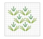 Grass stitch