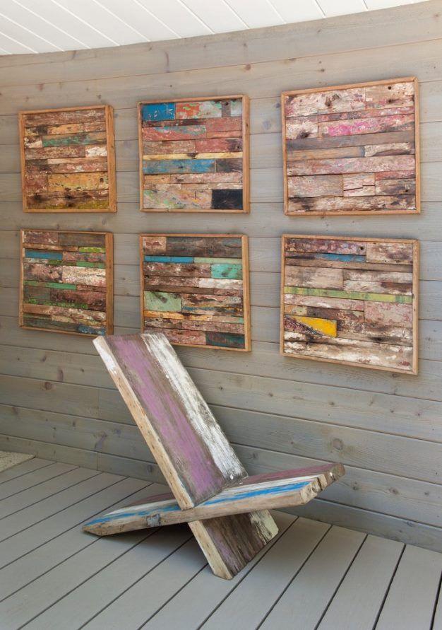 Home Decor Apartment Outdoor Wall Art Wooden Wall Art Pallet Wall Art