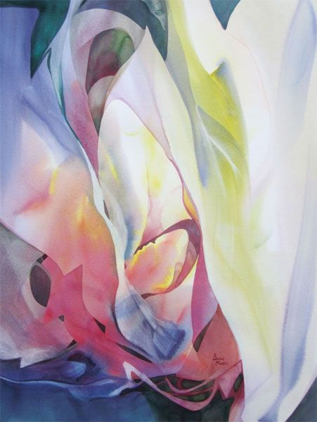 """Awesome blog post about watercolor painting from Betsy Dillard Stroud: """"How Can You Know What You Think Until You See What You Say?"""" Featured art by Ann Smith, ArtistsNetwork.com #watercolor #watercolour #art #painting #abstract"""