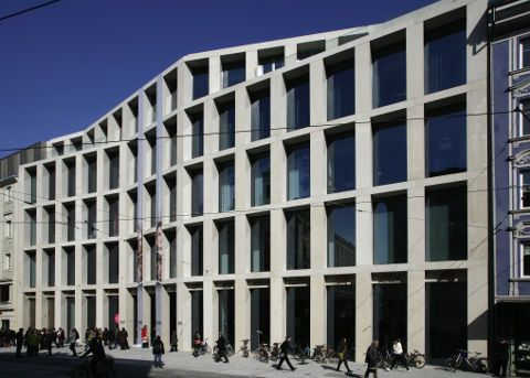 david chipperfield precast concrete | Chipperfield shopping centre is opened in Innsbruck