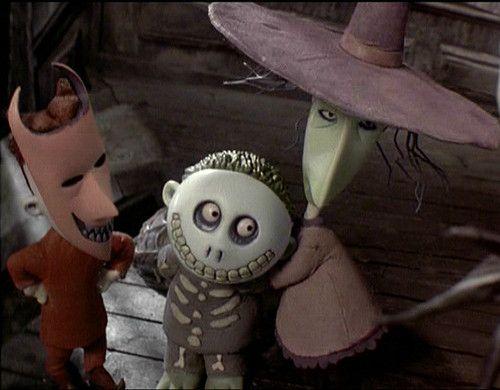 Lock Shock and Barrel: image to do fondant | Nightmare ... |Nightmare Before Christmas Characters Barrel