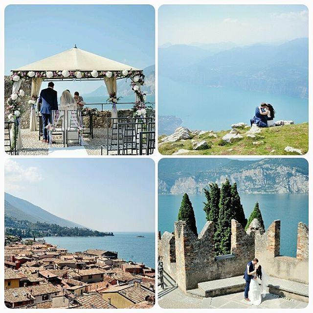 Colorful city with incredible scenery :) #Wedding in #Malchesine, on the shores of Lake Garda :) Мальчезине - красочный, курортный городок с непревзойденными пейзажами. Скалистые берега Гарды и горные тропы Монте-Бальдо станут прекрасным оформлением для вашей свадьбы на панорамной террасе старинного замка Скалигеров.  Wedding planner: @yourdreamweddingitaly  Photo: @weddingphotographeramalficoast http://www.dream-wedding-italy.ru  Active link is in a profile.  #свадьбазаграницей…