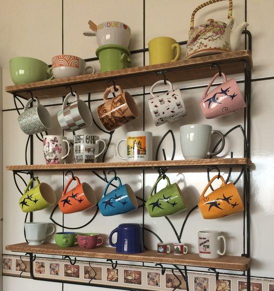 Porta Xícaras - Arte em ferro