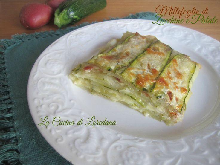 Si prepara in pochi minuti e poi subito in forno: Millefoglie di Zucchine e Patate, una ricetta semplice che vi conquisterà al primo boccone