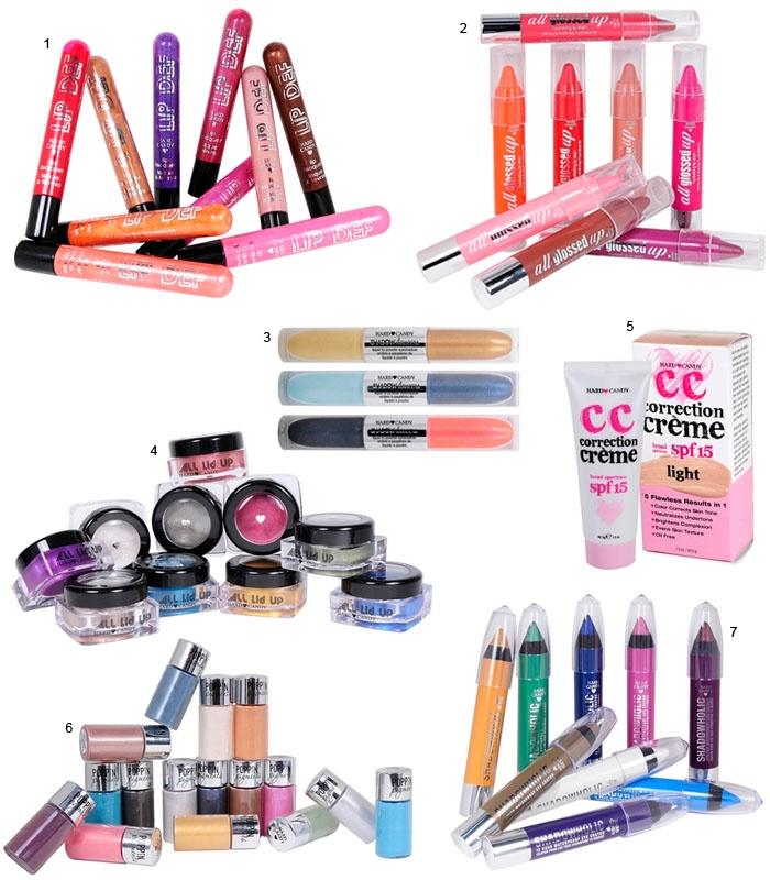Conheça os novos produtos de maquiagem da marca americana Hard Candy!