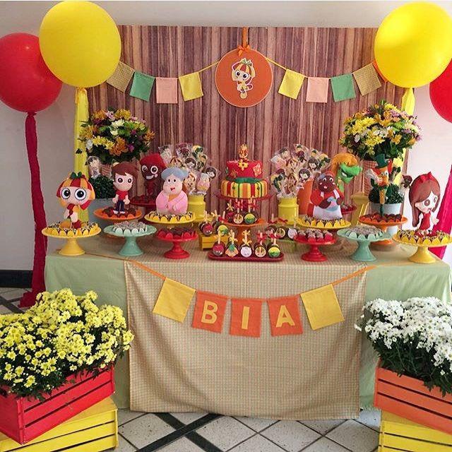 Festa muito fofa com tema que adoro Sítio do Pica-pau Amarelo! Por @sylviavidalfestas ❤️ #kikidsparty