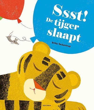 Ssst! De tijger slaapt   Prentenboek van het jaar   De Prentenboek TopTien voor De Nationale Voorleesdagen 2018