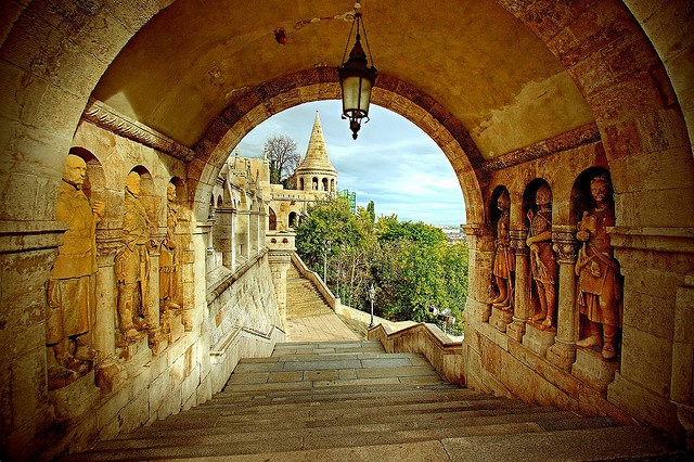 Fisherman's Bastion, Budapest by sparky2000, via Flickr