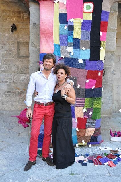 More #RedPants in #Italy via #BettaKnit #Uprato