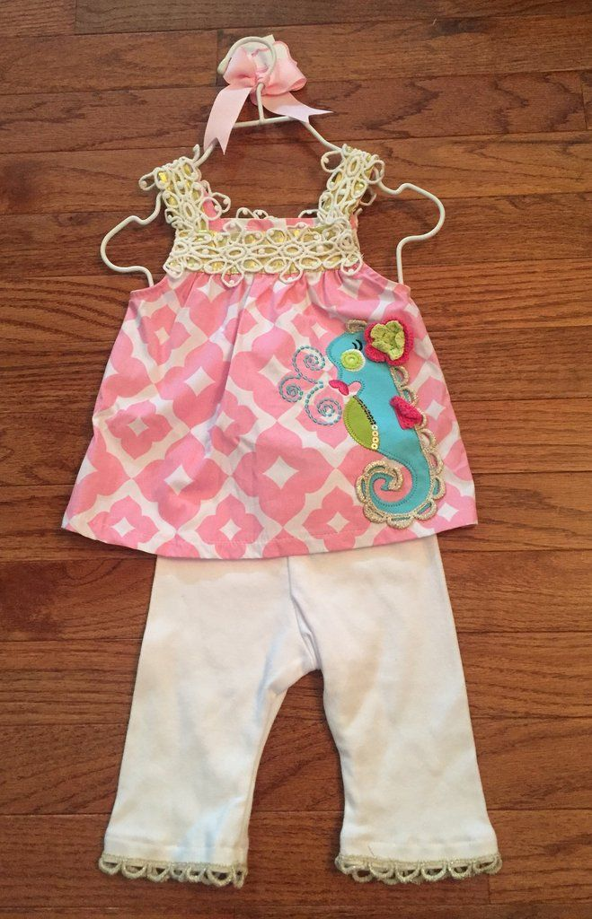 0-6m NWT Mud Pie Outfit