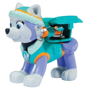 Paw Patrol - Action Pack Everest Figure and Badge