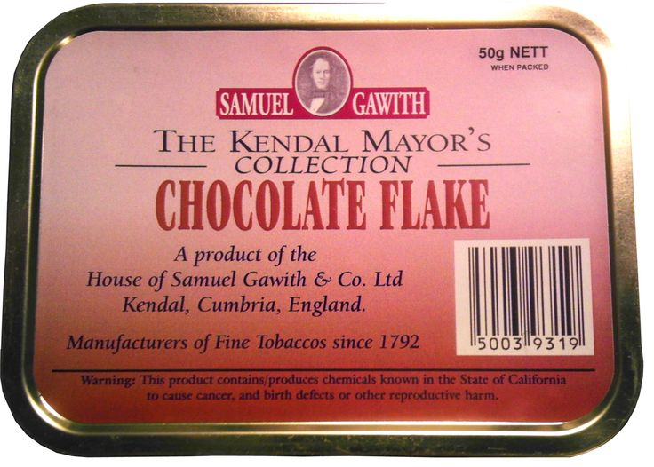Samuel Gawith Chocolate Flake Pipe Tobacco Review | The #1 Source for Pipes and Pipe Tobacco Information