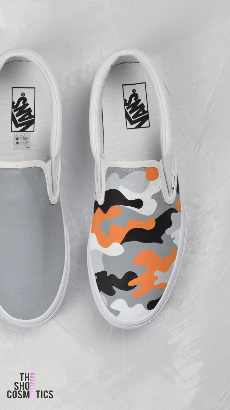 b52e24f664 Explore our new hand painted camo vans slip on custom sneakers. Looking for  pair of vans sneakers