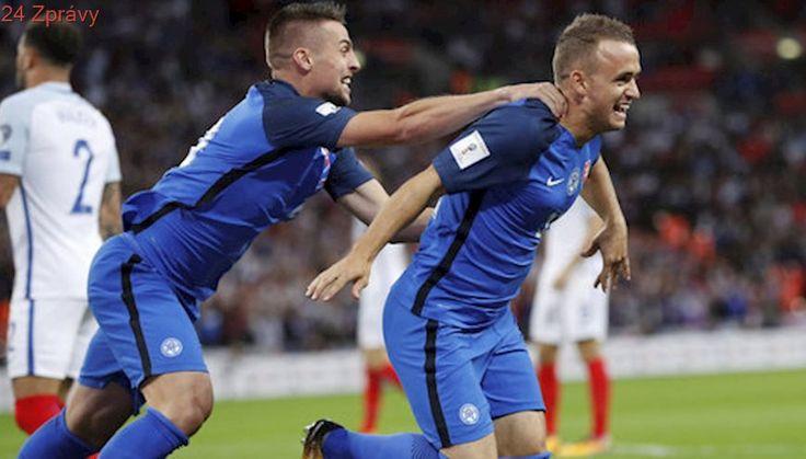 ONLINE: Anglie - Slovensko 0:1. Z parádní akce bleskově udeřil Lobotka