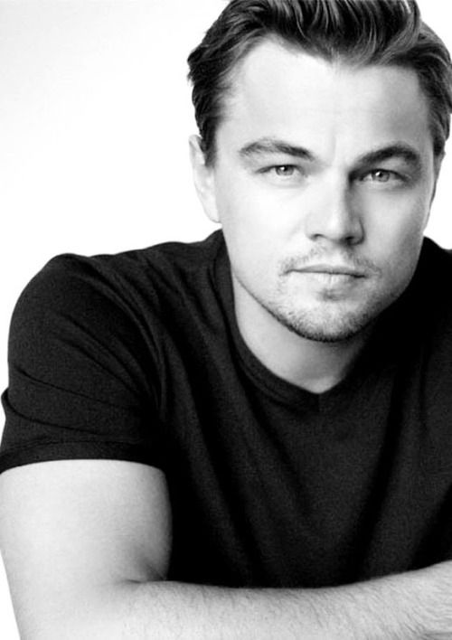 Leonardo DiCaprio. I totally have a thing for sexy eyes...and let me tell you Leo has amazing dazzling eyes!! Ahhhhhh! Lol