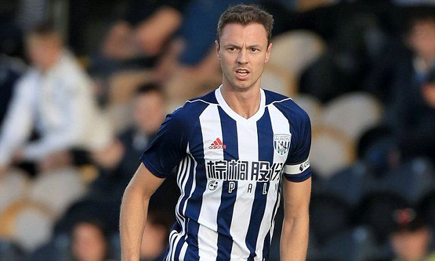 Tony Pulis urges Jonny Evans to fight for West Brom place