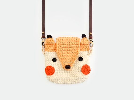 Crochet Cute Fox Case for Fuji Instax Mini 2590 by meemanan