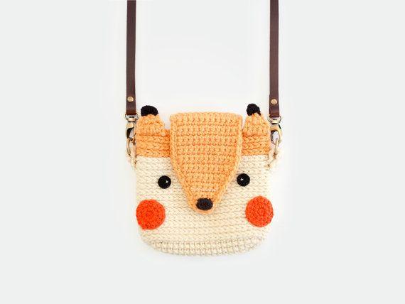 Crochet Cute Fox Case for Fuji Instax Mini 2590 by meemanan