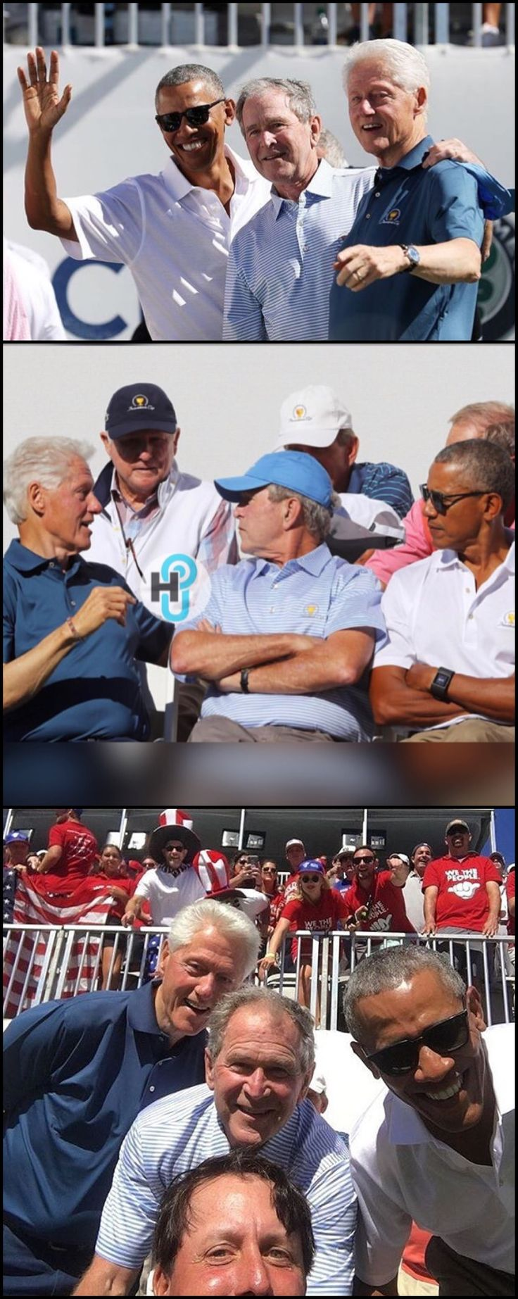 #Former #US #Presidents #BarackObama #BillClinton #GeorgeWBush ......I would take anyone of these in the White House  over what is living there now. Thought Bush wasn't that great until Trump walked in...