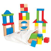Buy Hape Maple Blocks Online at johnlewis.com