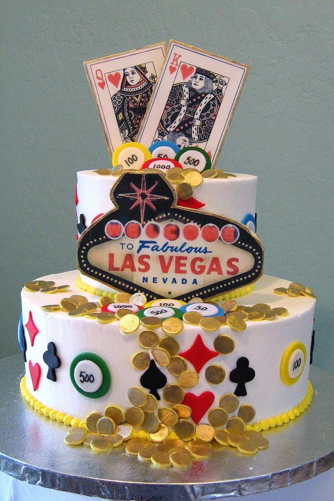 Las Vegas cake design