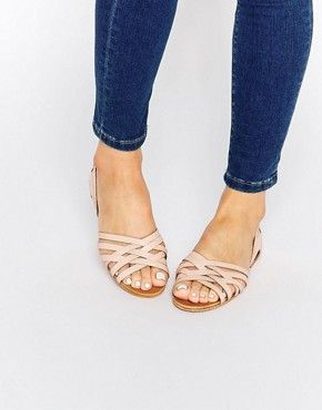 ASOS JINNY Leather Summer Shoes