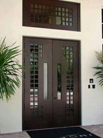 Double Front Door Ideas Modern Entrance