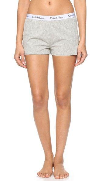 Calvin Klein Underwear Logo Sleep Shorts