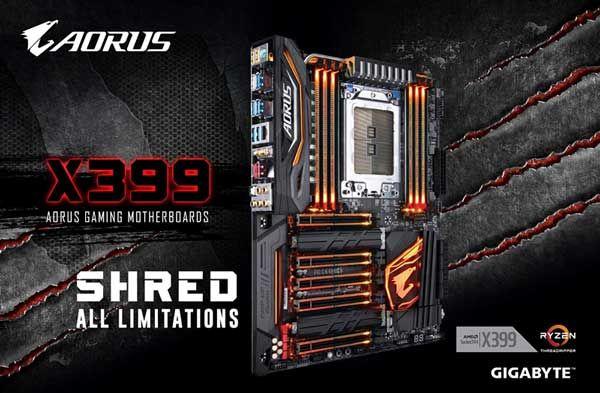 Gigabyte presenta la placa base X399 AORUS Gaming 7. La serie AORUS extiende su enfoque a la plataforma AMD con importantes características.