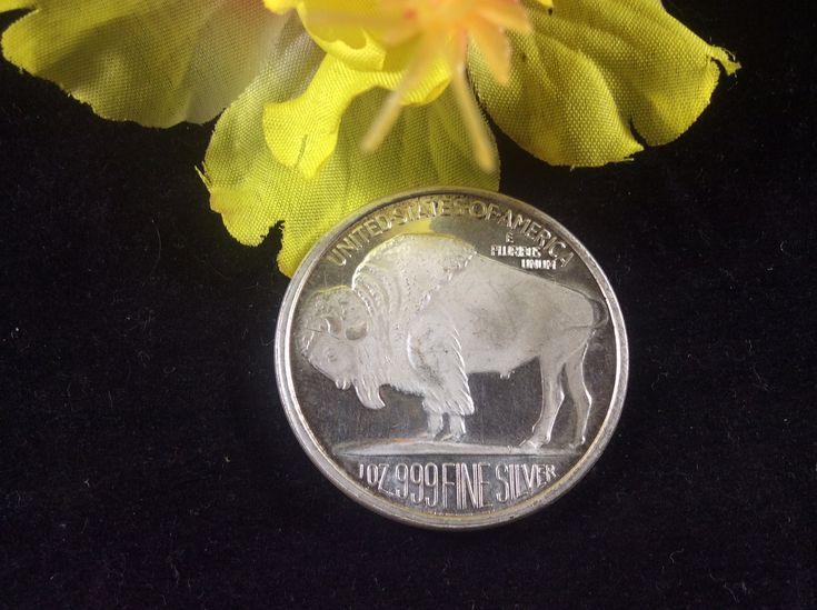 2015 United States Buffalo One Troy Ounce Silver Coin Priced at $19.99 available at Gagdets and Gold!