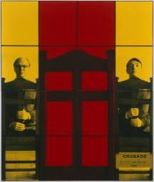 Gilbert & George 'CRUSADE', 1980 © Gilbert & George