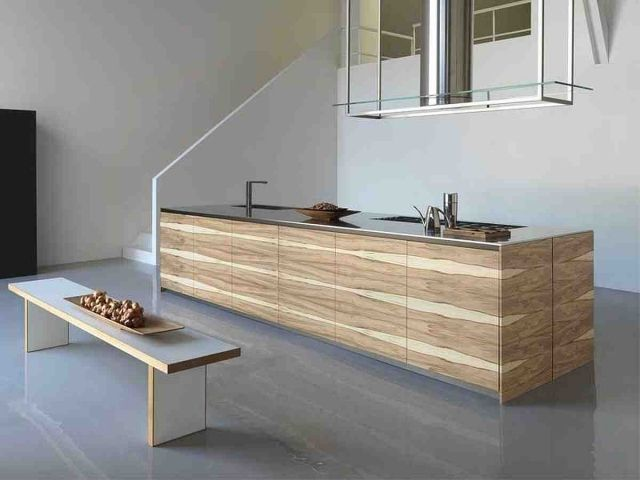edelstahl arbeitsfläche für kochfeld kochplatte abfall küche ... - Küche Mit Edelstahl Arbeitsplatte