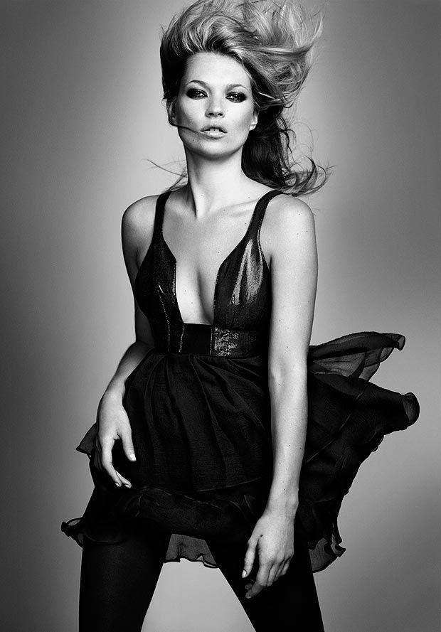 Kate Moss, ladies...