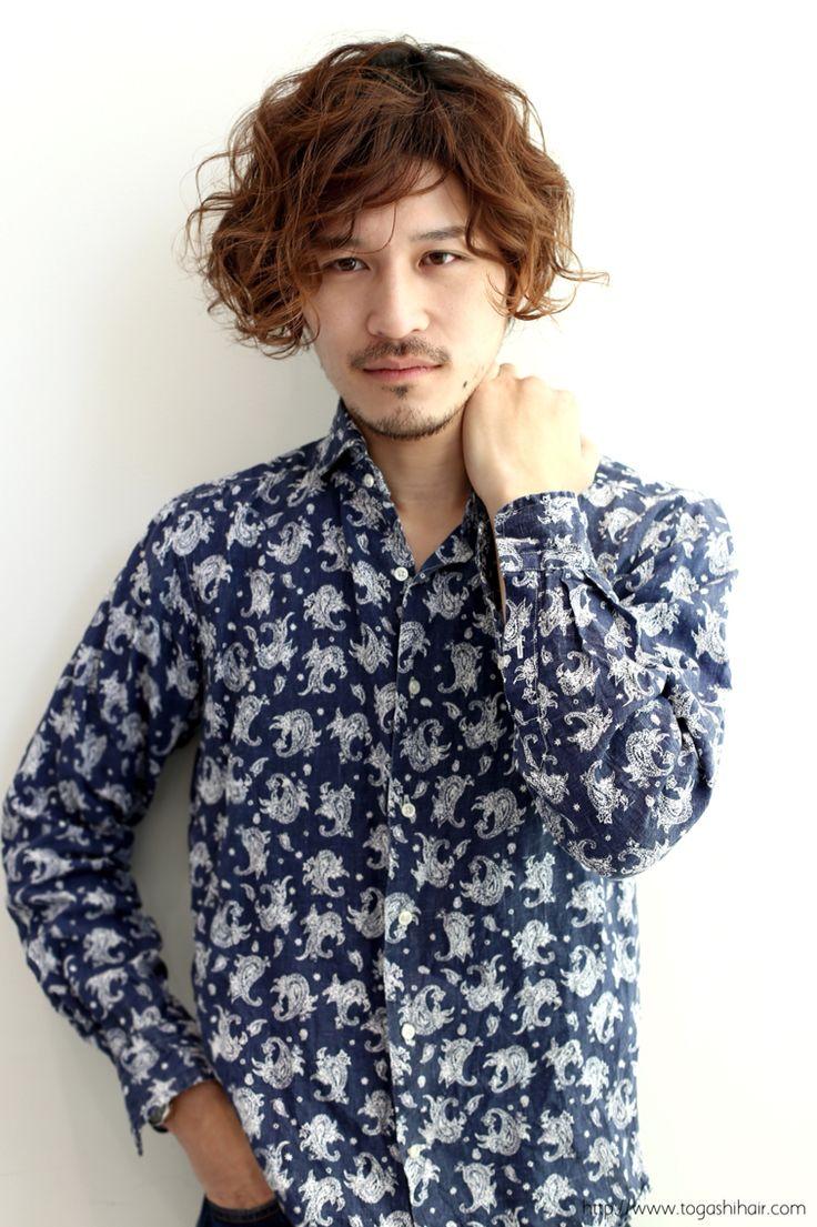【togashihair】外国人風ニュアンスパーマhttp//www.togashihair.