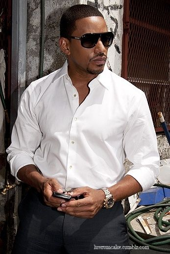 A woman once said that if Laz Alonso was a Transformer, his name would be Optimus Fine.  She ain't never lied!