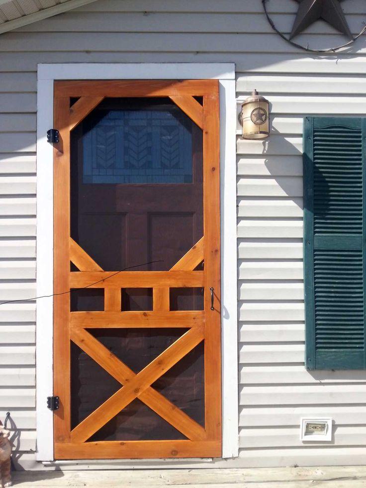 Screen Door Designs : Diy screen door quot aww love me some fresh air