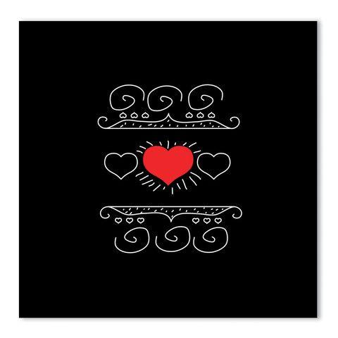 theodore + paper: tattoo heart card – theodore + paper