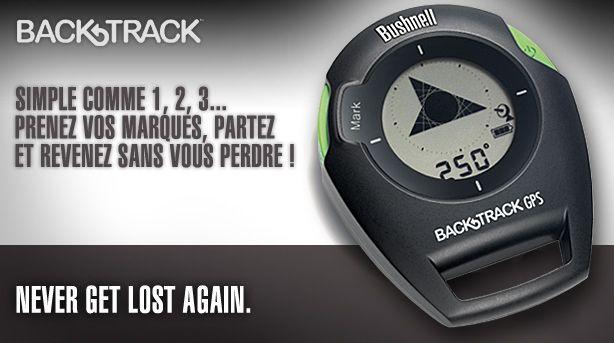 Bushnell BackTrack : à la fois GPS et boussole numérique !