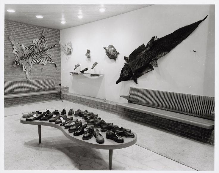 Bata Shoe Store in Amsterdam, Netherlands, 1953