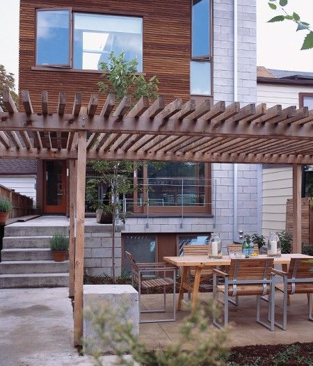 Smart Eco Patio Design | Photo Gallery: Small Backyards | House & Home | Photo by Ted Yarwood