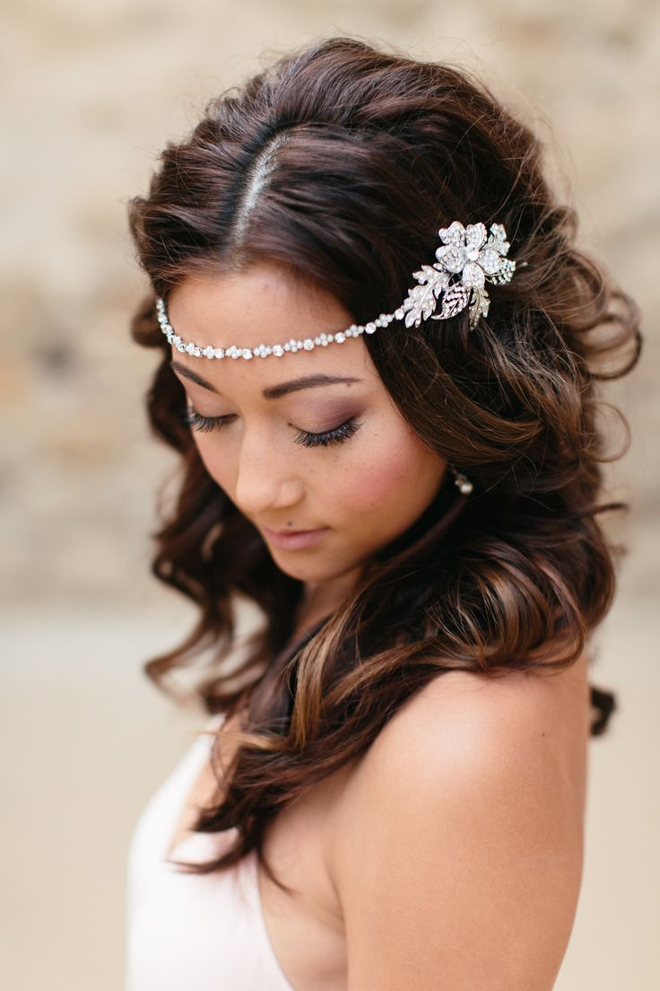 261 best bridal headpieces & jewellery images on pinterest | wedding