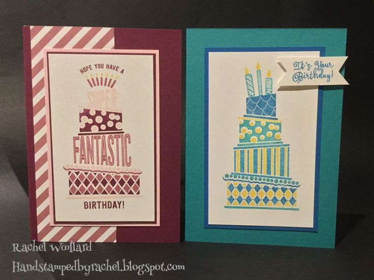 Cake Crazy Stampin Up