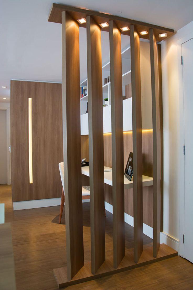 25 idee per pareti divisorie in legno dal design for App arredamento