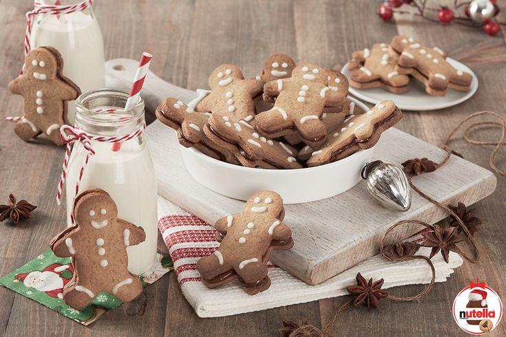 Omini di pan di zenzero con Nutella