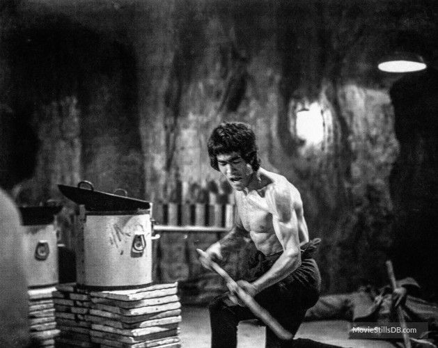 Enter The Dragon - Publicity still of Bruce Lee