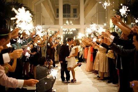 Bodas originales o bodas diferentes con estrellas!